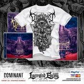 Image of DOMINANT - Servants of Damnation Tshirt - CD / Digipack BUNDLE