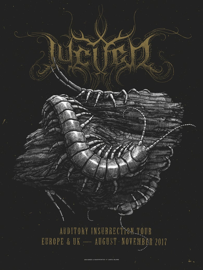 Image of »JUCIFER« Tour Poster