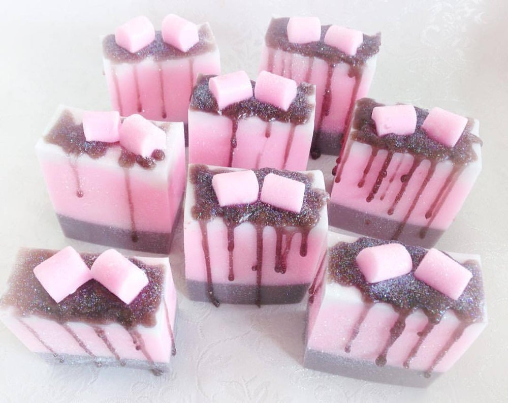 Image of Marshmallow Coconut Soap - Glycerine