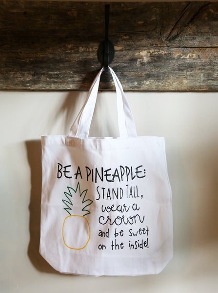 Image of Pineapple Canvas Bag