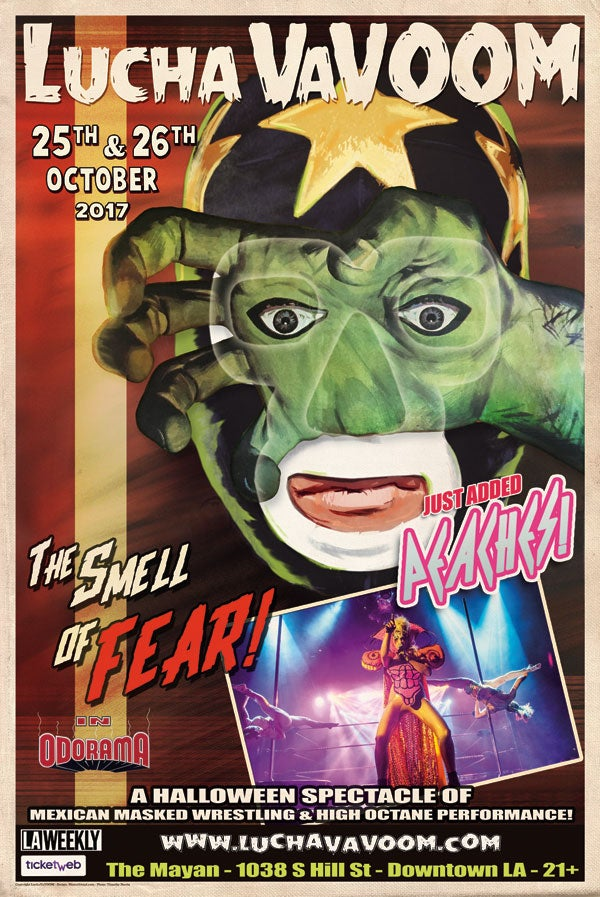 """Image of Halloween 2017 Poster """"The Smell Of Fear"""""""