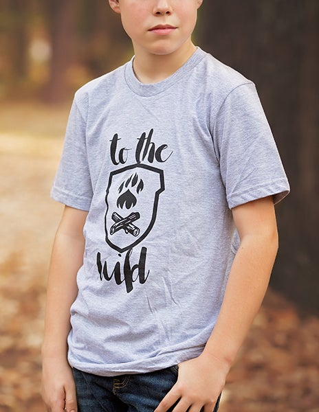 Image of Wild Explorer T-Shirt - Gray