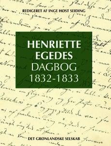 Image of Henriette Egedes Dagbog 1832-1833