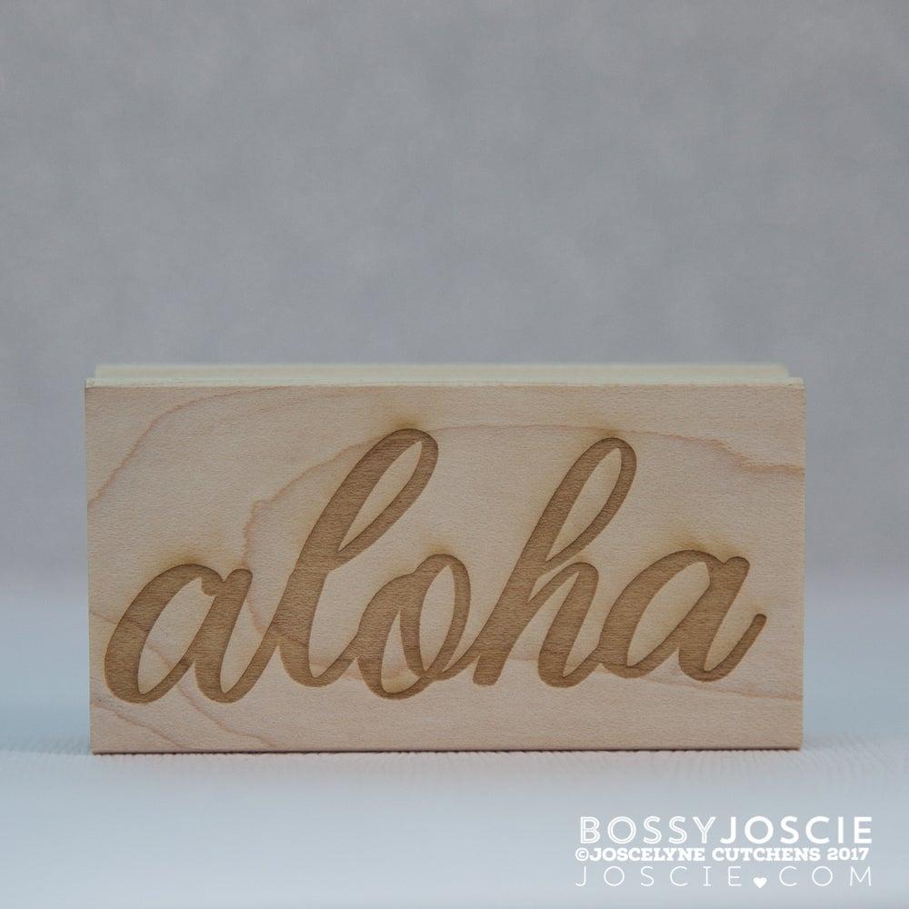Image of Large Aloha Stamp