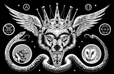 Image of Aamon, print by Michael Bukowski