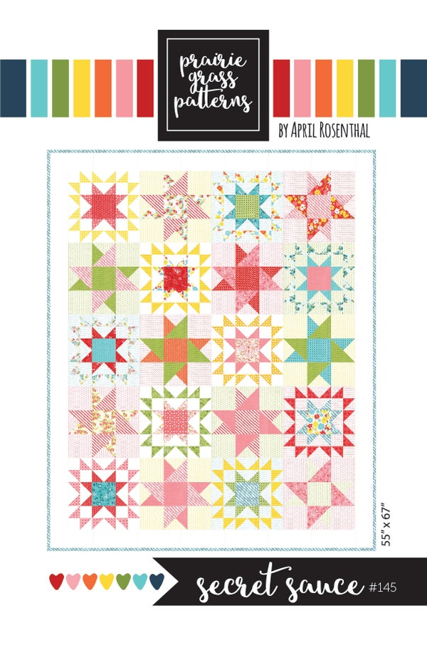 Image of Secret Sauce Quilt Pattern