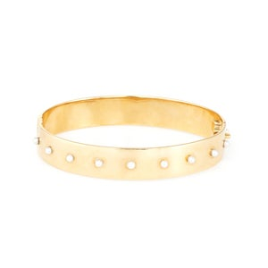 Image of Pearl Capra Bangle