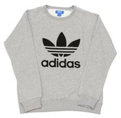Image of Grey Trefoil Crewneck