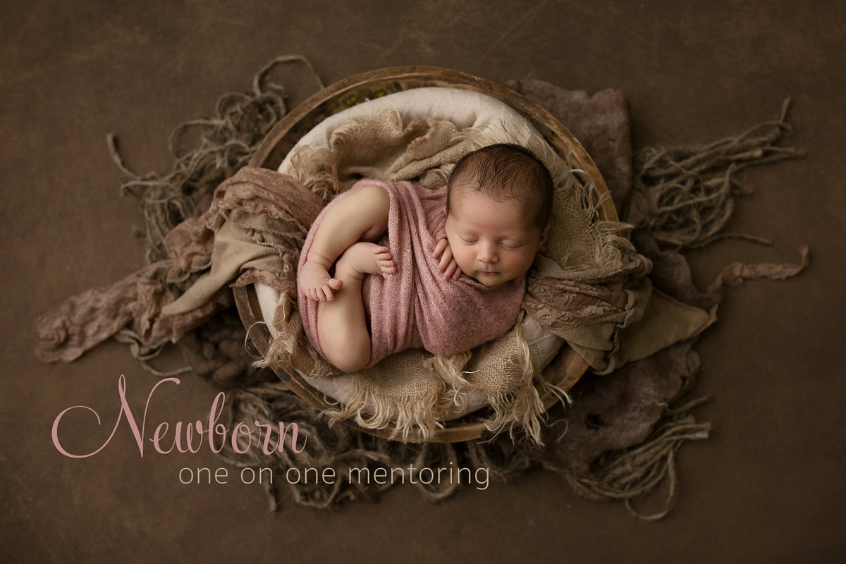 Image of One on One Newborn Mentoring - 8 Hours