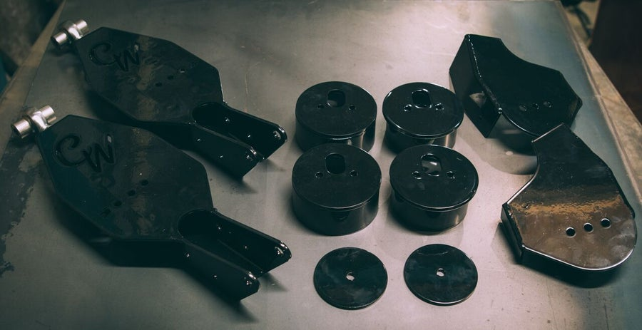Image of Mercedes Benz W201/W124 Air Ride Kit