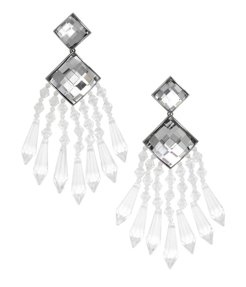 Image of BALMAIN x H&M STUNNING HUGE SHOWSTOPPER EARRINGS - SOLD OUT IN ALL STORES