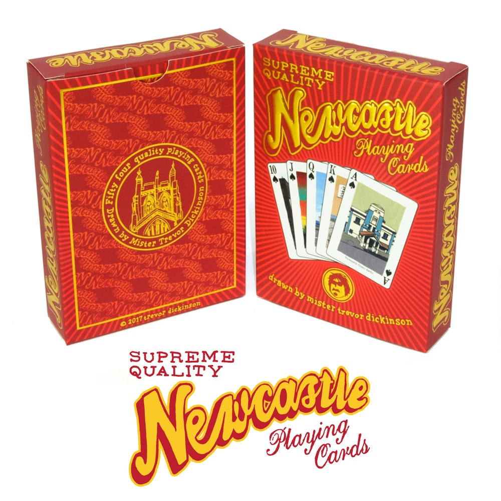 Image of Newcastle Playing Cards