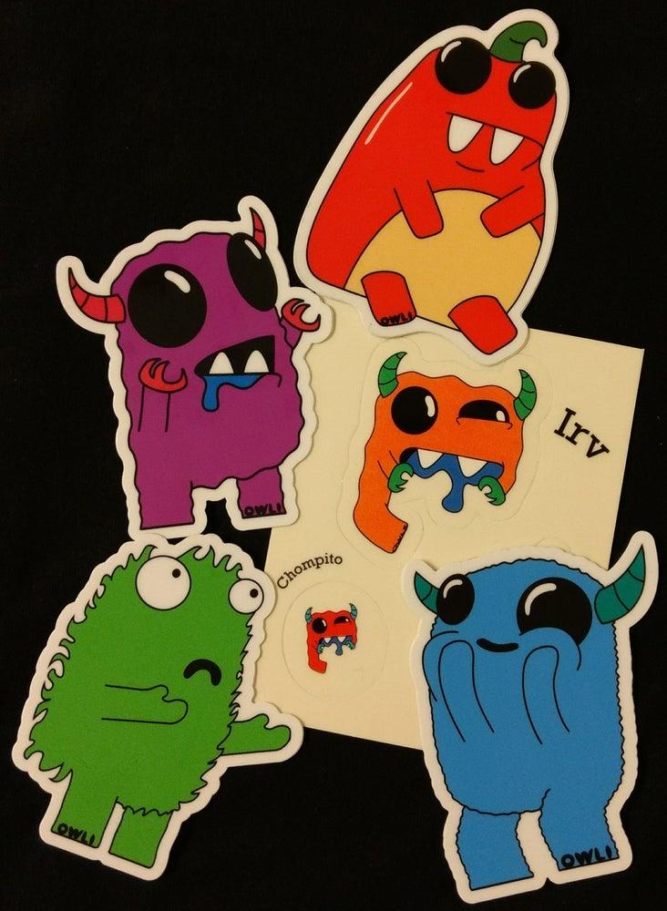 Image of Owli Sticker Pack