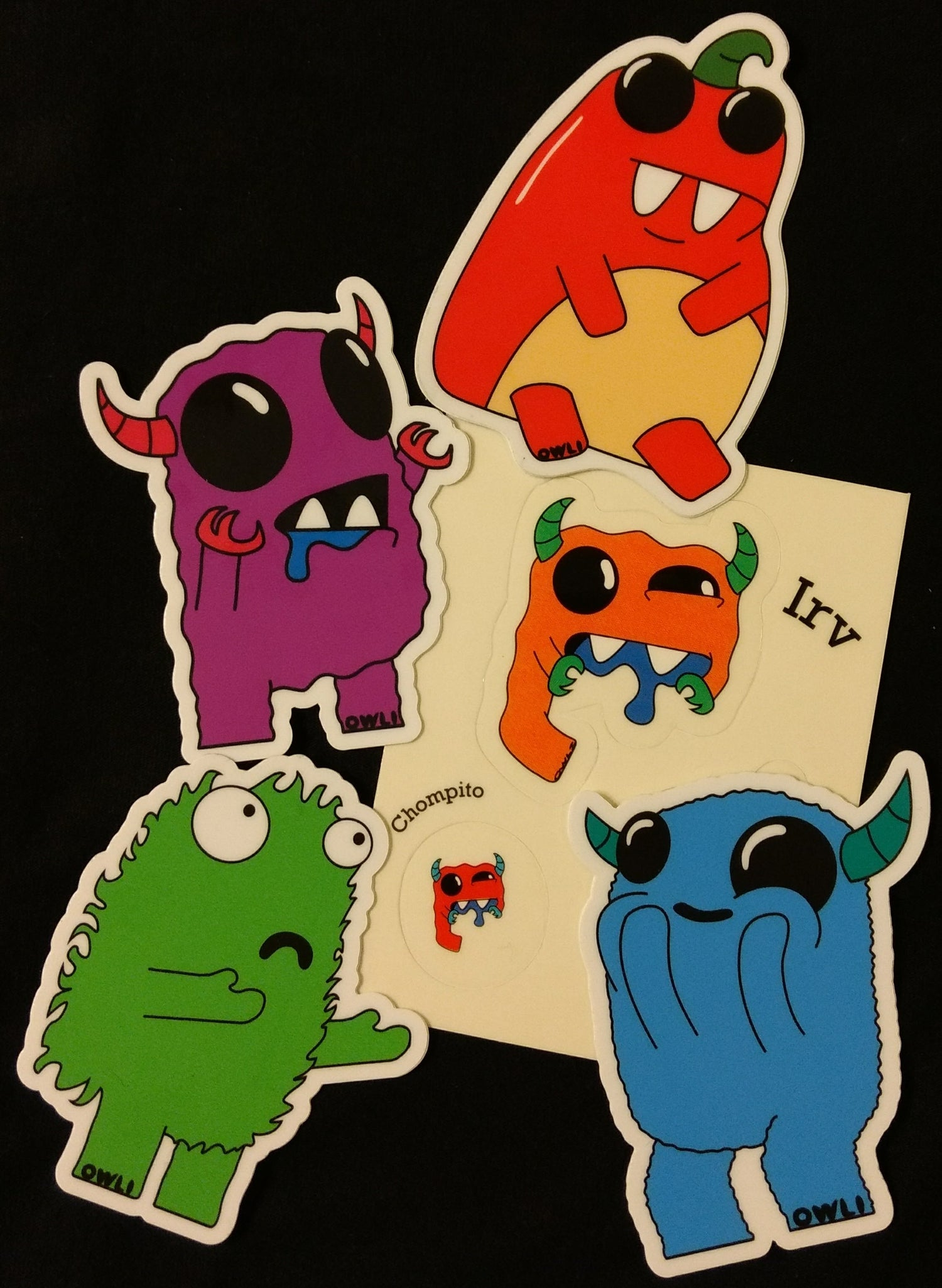 Image of Owli Sticker Pack