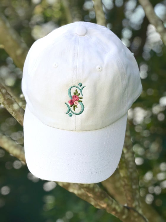 Image of Rose Monogram Cap