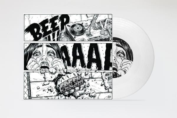 """Image of Beep ahhh Fresh - 7"""" White Vinyl (Ugly Mac Beer)"""