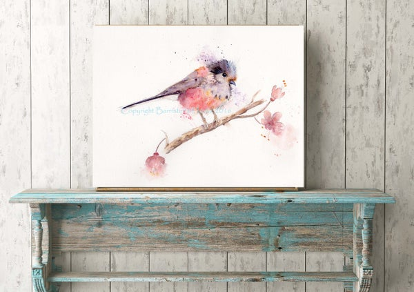 Image of LONG TAILED TIT, FINE ART PRINTS