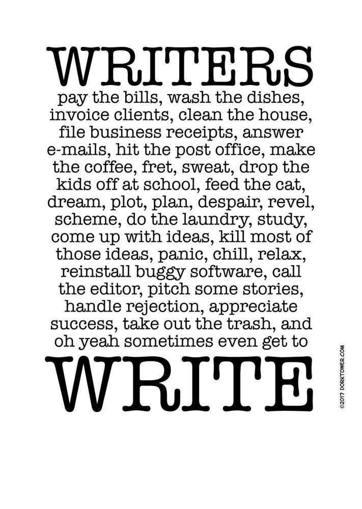 Image of Writers Write print
