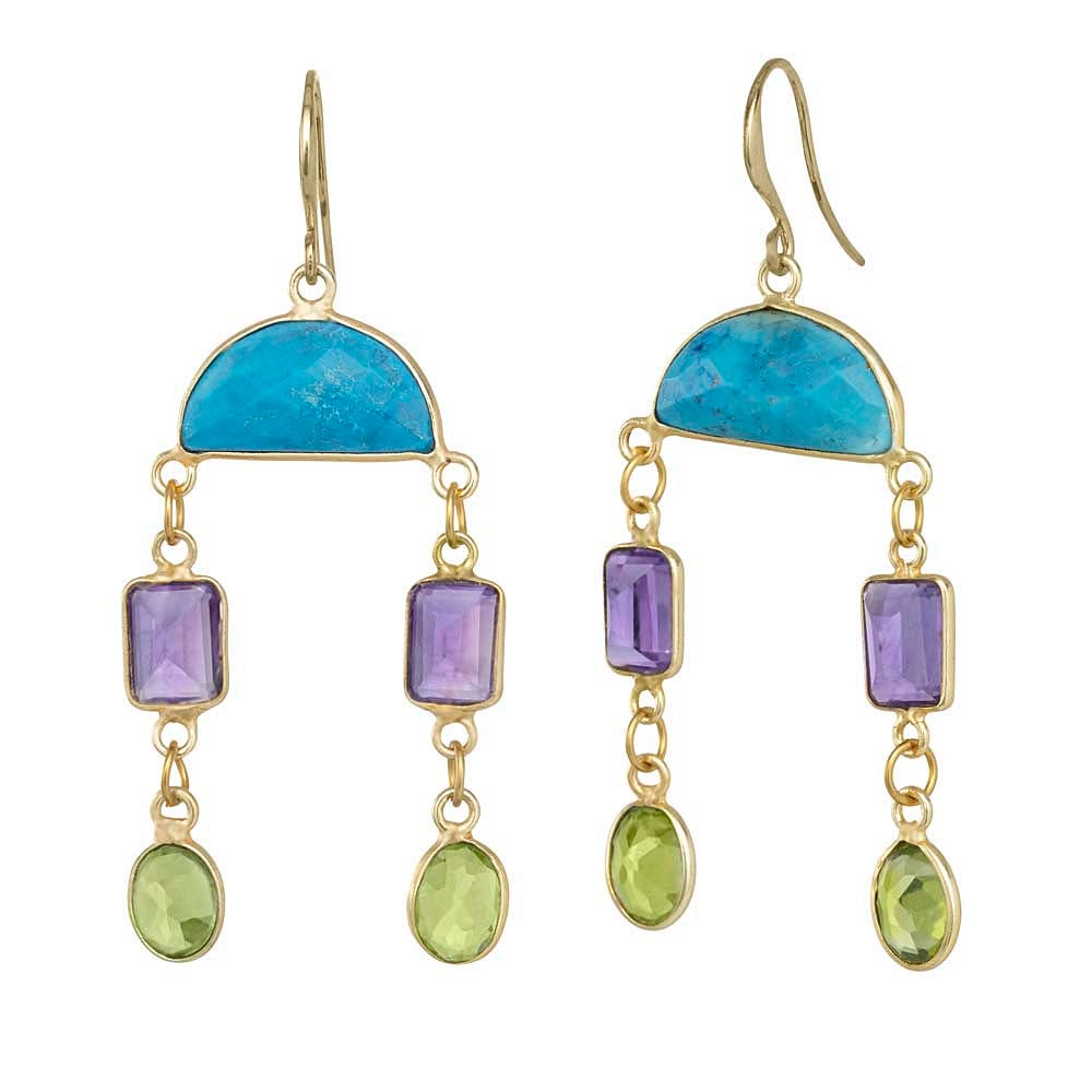 Image of SPARKLE PARTY CHANDELIER EARRINGS