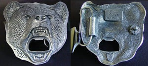 Image of Belt Buckle w/ Beer Bottle Opener PREORDER Ships Dec 10
