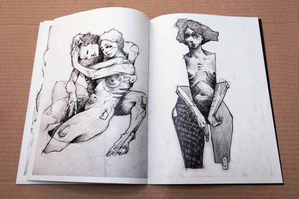 Image of Sketchbook Publication. 2015-17