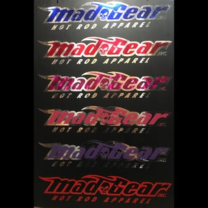 Image of 2-Color Mad Gear Decal