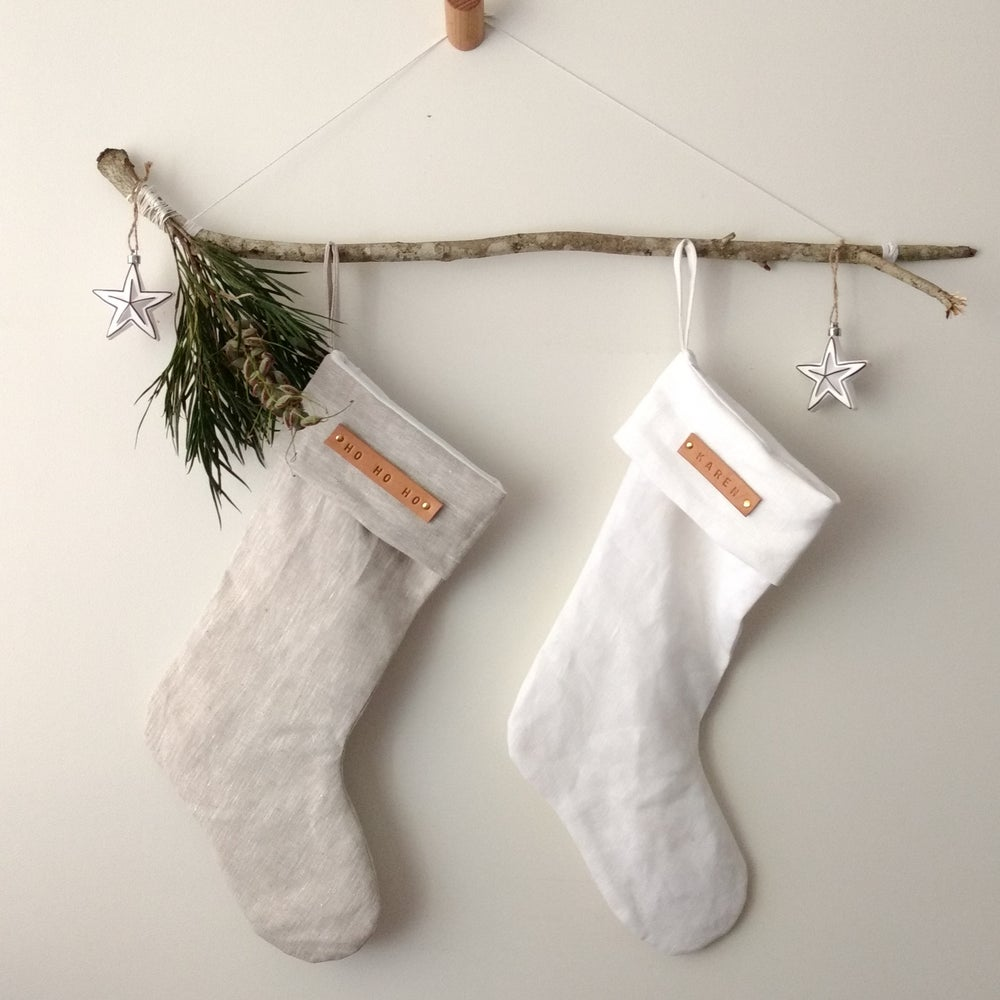 Image of Minimal Christmas Stocking