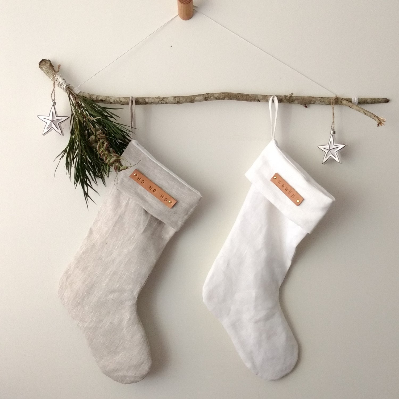 Image of Minimal Christmas Stocking