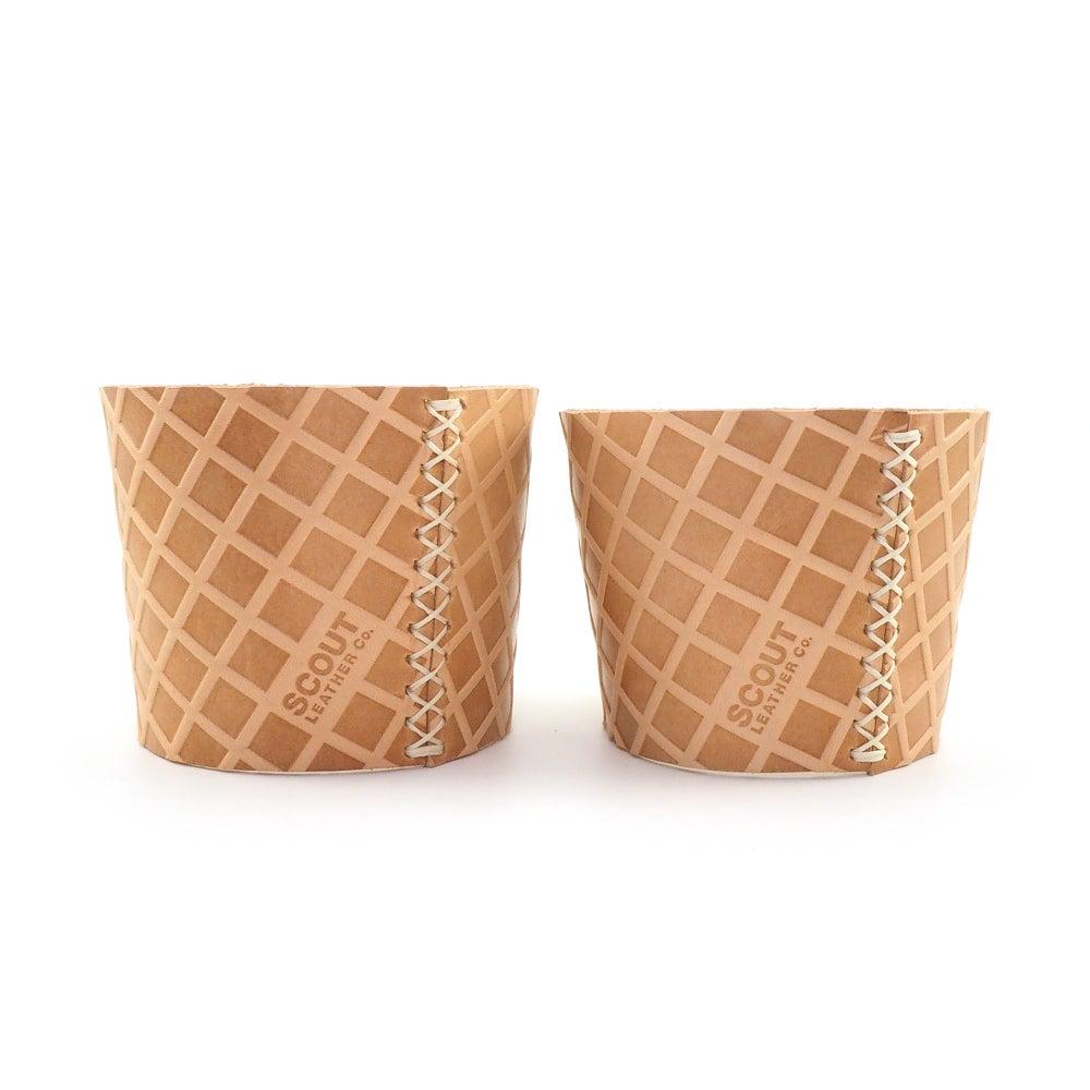 Image of Waffle Cone Ice Cream Sleeve