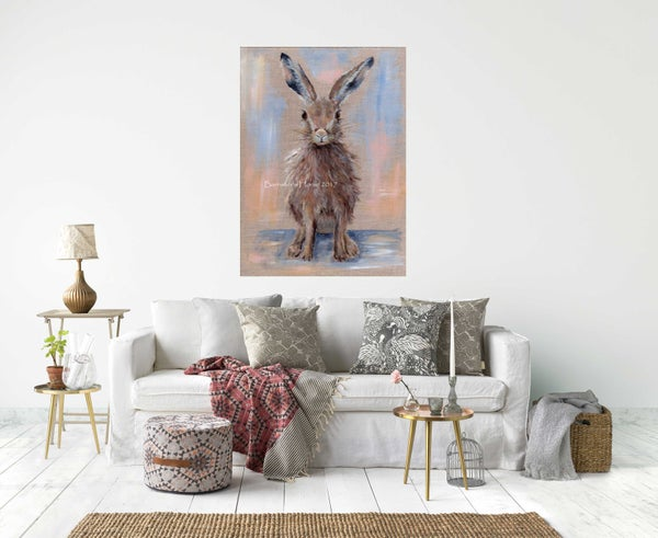 Image of PRETTY HARE, CHUNKY CANVAS WRAPS