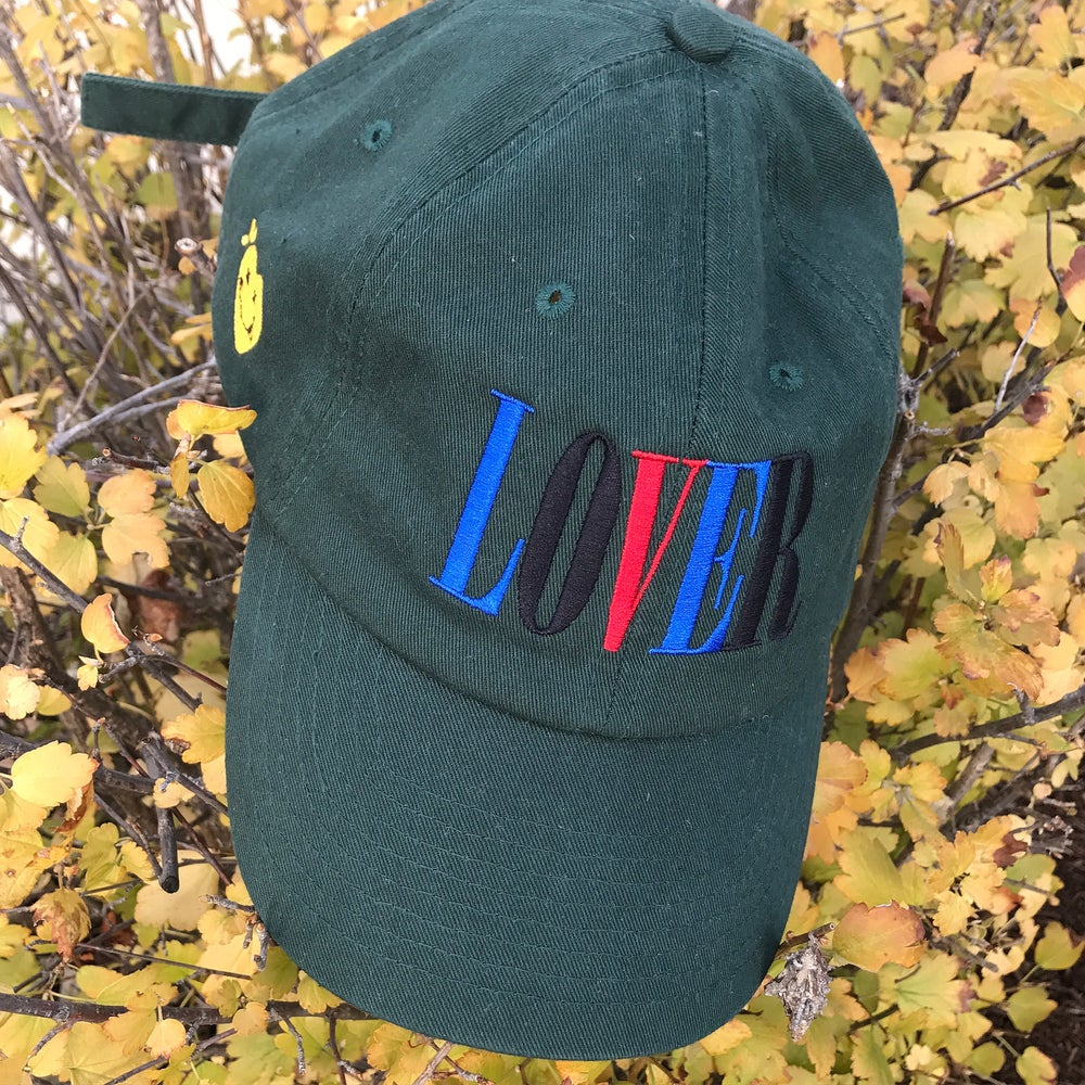 Image of The Lover Dad Hat in Dark Green