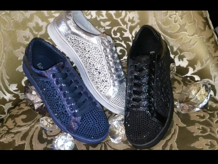 Image of The Paris Bling Sneakers