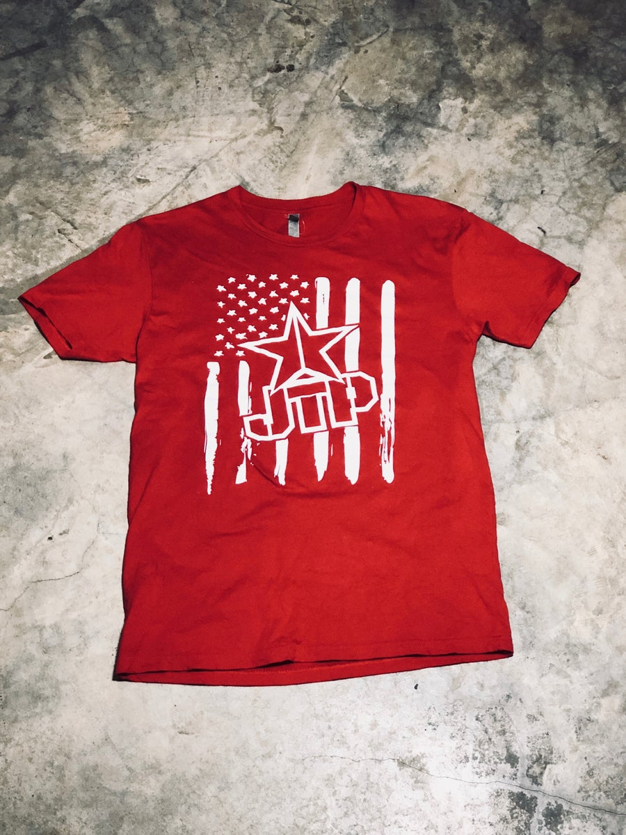Image of FLAG TEE RED