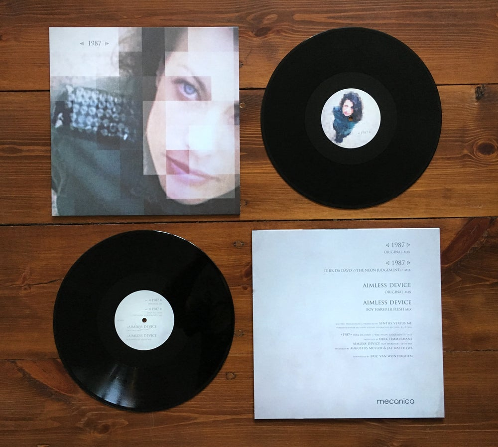 Image of Synths Versus Me - ⩤ 1987 ⩥ 12""