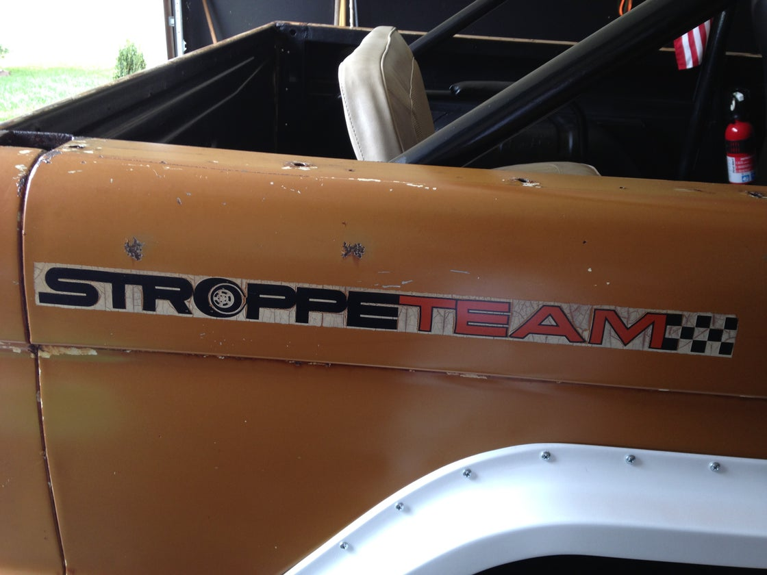 Image of Stroppe Team Decal