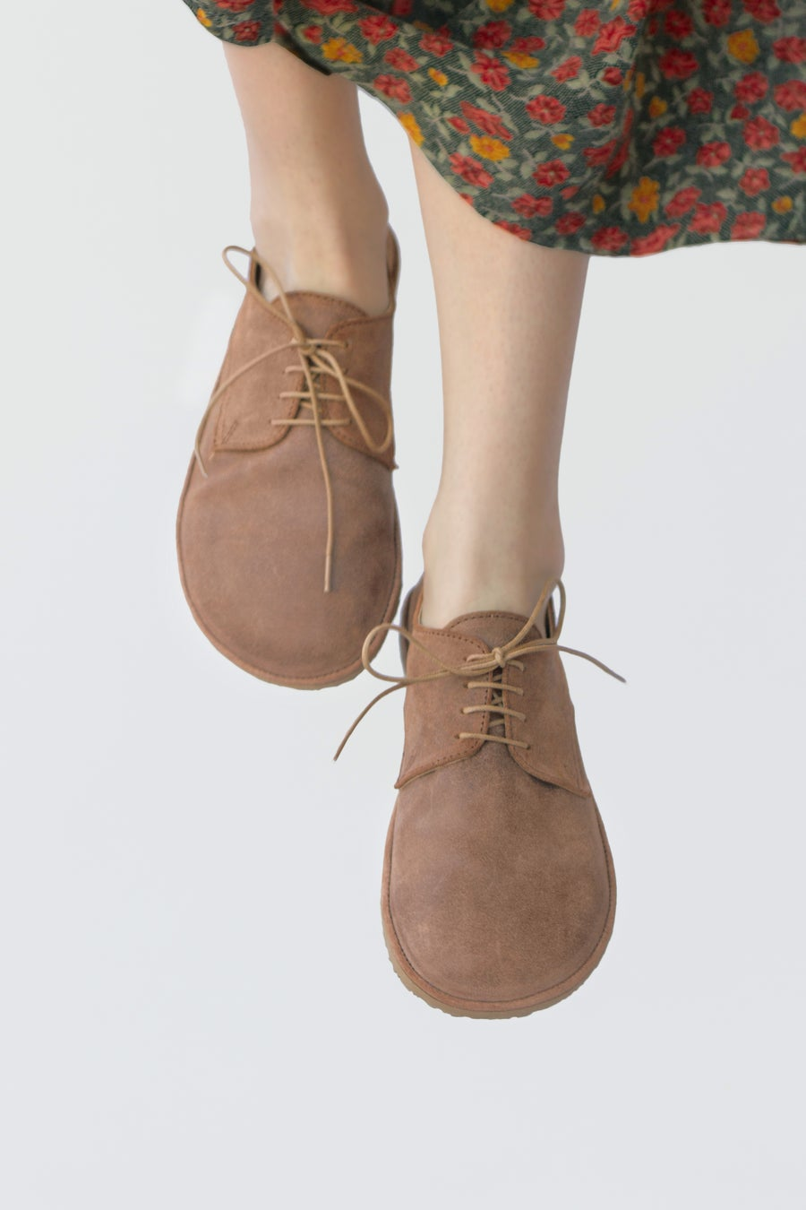 Image of Plain Toe Derby in Oiled Tan