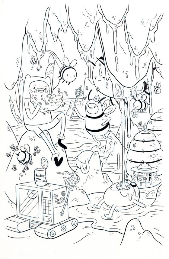 Image of Adventure Time #62 - Cover A