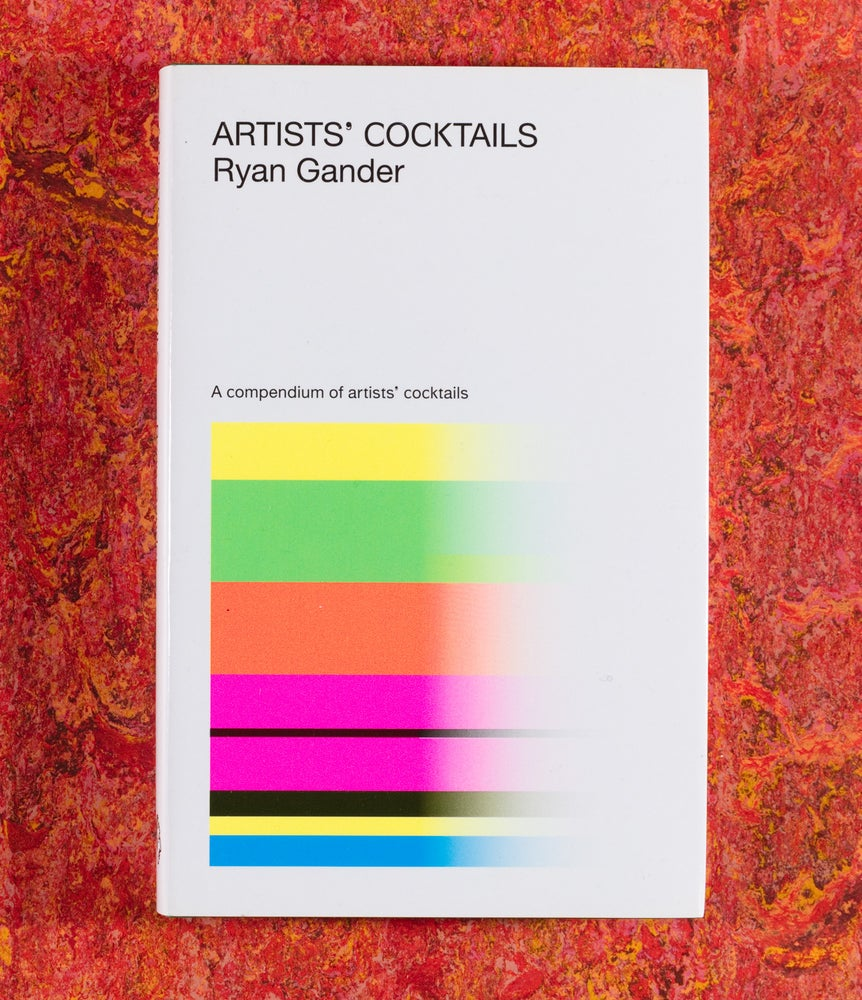 Image of Artists' Cocktails <br />— Ryan Gander 2nd Edition