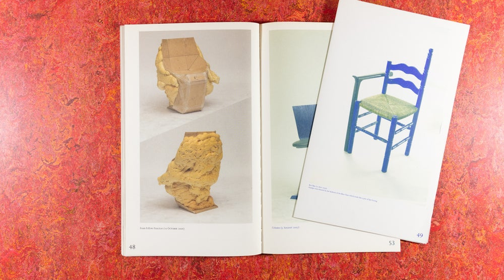 Image of 100 Chairs in 100 Days and its 100 Ways <br />— Martino Gamper