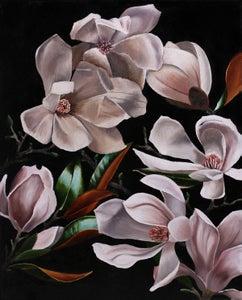 "Image of ""Magnolias en Noir"" (print)"