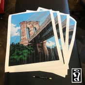 Image of Brooklyn Bridge Print