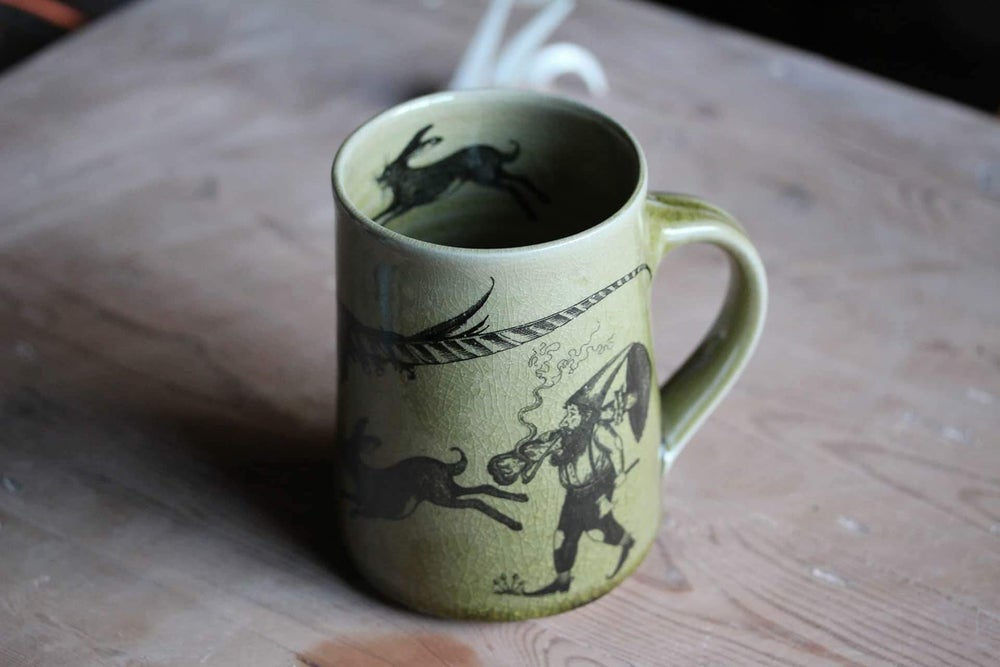 Image of The earth-dweller tankard.