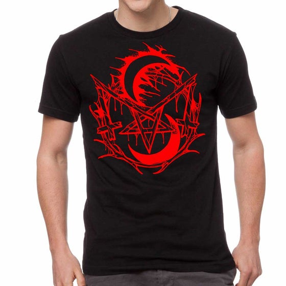 Image of Sam Hill Sigil Red/Black Tee LTD.