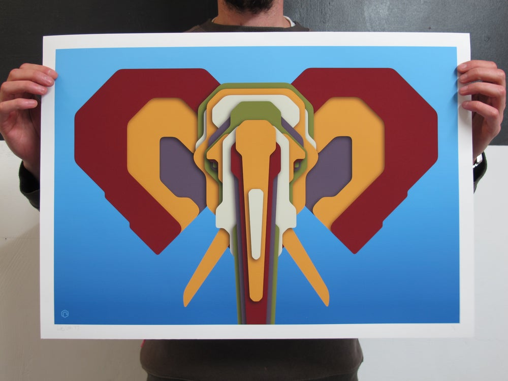 Image of Technicolour Pachyderms V.1