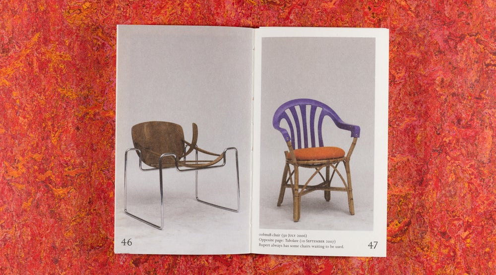 Image of 100 Chairs in 100 Days and its 100 Ways <br />— Martino Gamper (3rd edition, 3rd size)