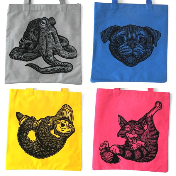 Image of Wacky Wednesday - Tote bags!