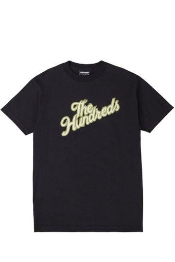 Image of THE HUNDREDS - WHEEL SLANT T-SHIRT (BLACK)