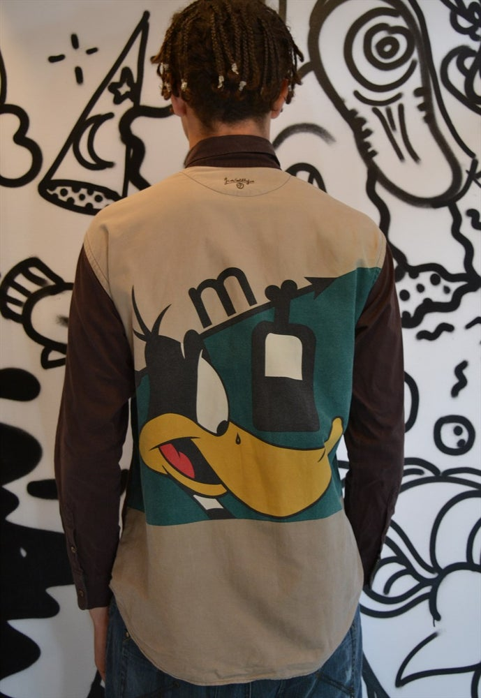 Image of Jc De Castelbajac Daffy Duck Looney tunes