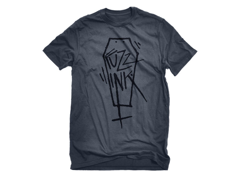 Image of fuzz ink. Tee