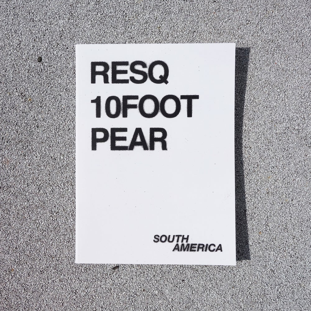Image of ON SALE! SOUTH AMERICA - RESQ, 10FOOT, PEAR